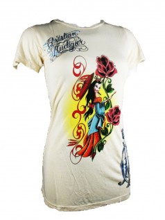 Christian Audigier Damen Shirt