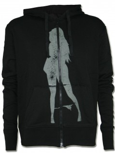 Plain Jane Herren Zip-Hoodie Glorious