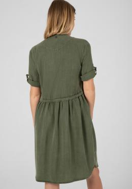 TIMEZONE Classic Dress Damen-Röcke und Damen-Kleider rainforest green