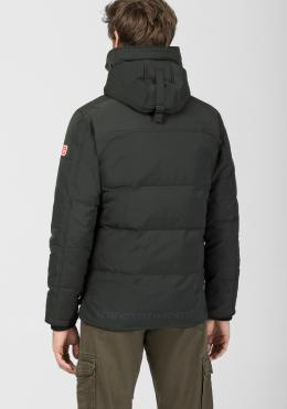 TIMEZONE Hooded Long Jacket 1 Jacken pirate black