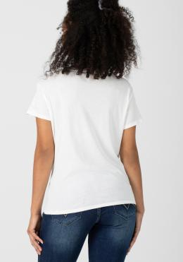 TIMEZONE Knot T-Shirt T-Shirts/Polos pure white