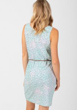 TIMEZONE V-Neck Jersey Dress Damen-Röcke und Damen-Kleider light aqua